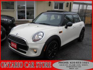 Used 2016 MINI Cooper 5DR. !!!1 OWNER NO ACCIDENTS!!! for sale in Toronto, ON