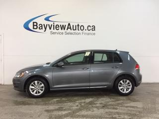 Used 2015 Volkswagen Golf TRENDLINE- TDI|AUTO|ALLOYS|HTD STS|BLUETOOTH! for sale in Belleville, ON
