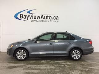 Used 2015 Volkswagen Jetta TRENDLINE- TDI|ALLOYS|ROOF|HTD STS|REV CAM|CRUISE! for sale in Belleville, ON