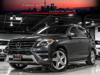 Used 2015 Mercedes-Benz ML 350 DESIGNO|AMG|NAVI|BLINDSPOT|360 CAM|BLUETEC|LOADED for sale in North York, ON