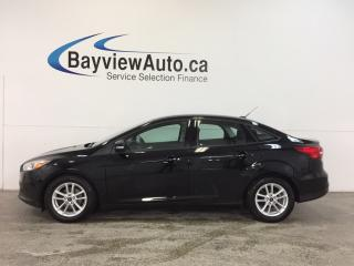 Used 2016 Ford Focus SE- AUTO|ALLOYS|A/C|REV CAM|SYNC! for sale in Belleville, ON