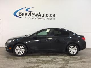 Used 2016 Chevrolet Cruze LS- 6 SPEED|1.8L|BLUETOOTH|ON STAR|LOW KM! for sale in Belleville, ON