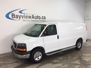 Used 2016 GMC Savana 2500 - 4.8L! CRUISE! A/C! LOW KM'S! for sale in Belleville, ON