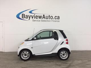 Used 2013 Smart fortwo - A/C! BLUETOOTH! LOW KM! BUDGET BUDDY! for sale in Belleville, ON