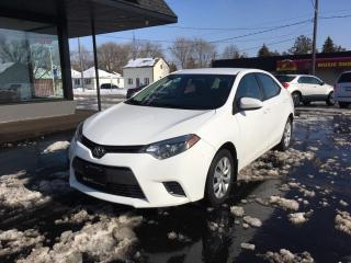 Used 2015 Toyota Corolla LE HEATED SEATS/BACK UP CAMERA for sale in Brantford, ON