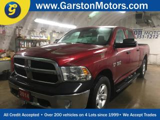 Used 2014 Dodge Ram 1500 SXT*CREW CAB*4WD*HEMI*FOLD OUT TOW MIRRORS*FOG LIGHTS*CLIMATE CONTROL*TRACTION CONTROL*TOW/HAUL MODE*TRACTION CONTROL*KEYLESS ENTRY*POWER WINDOWS/LOCK for sale in Cambridge, ON