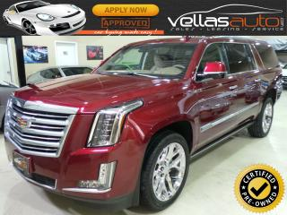 Used 2016 Cadillac Escalade ESV PLATINUM| 4X4| ONLY 10,279KM for sale in Woodbridge, ON