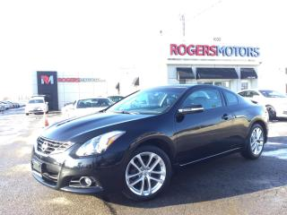 Used 2011 Nissan Altima 3.5 SR - 6SPD - 2 DR - LEATHER - SUNROOF for sale in Oakville, ON