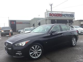 Used 2014 Infiniti Q50 AWD - NAVI - LEATHER - REVERSE CAM for sale in Oakville, ON