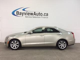 Used 2015 Cadillac ATS - 2.5L|REM STRT|HTD LTHR|BOSE|BLUETOOTH|CRUISE! for sale in Belleville, ON