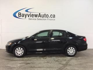Used 2013 Volkswagen Jetta TRENDLINE- 5 SPEED|2.0L|64000 KM|BUDGET BUDDY! for sale in Belleville, ON