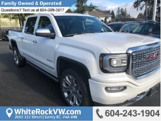 Used 2017 GMC Sierra 1500 Denali Navigation, Memory Seat & Emergency Communication System for sale in Surrey, BC