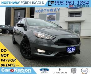 Used 2016 Ford Focus SE | NAV | REAR CAMERA | LEATHER | for sale in Brantford, ON