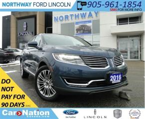 Used 2016 Lincoln MKX Reserve | NAV | PANO ROOF | 360 CAMERA | for sale in Brantford, ON