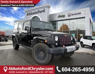 Used 2015 Jeep Wrangler Unlimited Sahara *ACCIDENT FREE* *LOCALLY DRIVEN* for sale in Abbotsford, BC