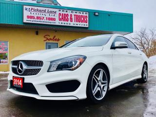 Used 2014 Mercedes CLA-Class LEATHER INTERIOR!! NAVIGATION!! BACKUP CAMERA!! HEATED POWER SEATS!! SUNROOF!! AWD & SO MUCH MORE!! for sale in Bolton, ON
