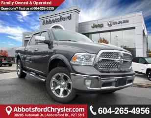 Used 2016 Dodge Ram 1500 Laramie *ACCIDENT FREE* *LOCALLY DRIVEN* for sale in Abbotsford, BC
