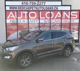 Used 2013 Hyundai Santa Fe Sport 2.4 Luxury LUXURY-ALL CREDIT ACCEPTED for sale in Scarborough, ON