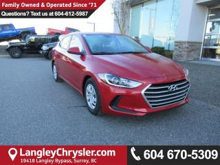 Used 2018 Hyundai Elantra LE <b>*HEATED SEATS*BLUETOOTH*POWER GROUP*<b> for sale in Surrey, BC