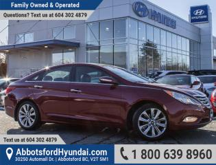 Used 2012 Hyundai Sonata 2.0T Limited BC OWNED for sale in Abbotsford, BC