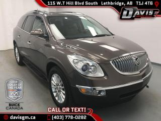 Used 2011 Buick Enclave CX 7 PASSENGER, FWD, TRAILER TOWING PACKAGE for sale in Lethbridge, AB