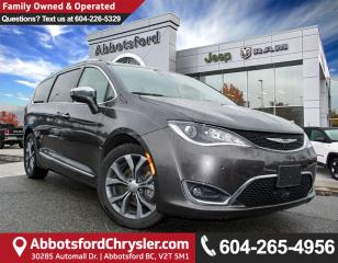 Used 2017 Chrysler Pacifica Limited *ACCIDENT FREE* *LOCALLY DRIVEN* for sale in Abbotsford, BC