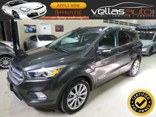 Used 2017 Ford Escape TITANIUM| 4WD| NAVI| PANORAMIC RF for sale in Woodbridge, ON