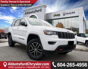 Used 2017 Jeep Grand Cherokee Trailhawk *ACCIDENT FREE* *LOCALLY DRIVEN* for sale in Abbotsford, BC