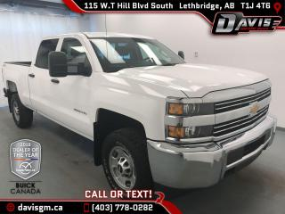 Used 2015 Chevrolet Silverado 2500HD WT 6.0L V8, DRIVER CONVENIENCE PACKAGE, for sale in Lethbridge, AB