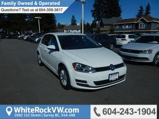 Used 2016 Volkswagen Golf 1.8 TSI Trendline BC Driven, Radio Data System, Heated Front Seats & Rear View Camera for sale in Surrey, BC