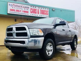 Used 2016 Dodge Ram 2500 ST QUAD CAB! 4X4! COMING SOON! CALL FOR DETAILS! for sale in Bolton, ON