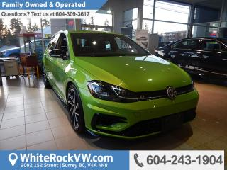 New 2018 Volkswagen Golf R 2.0 TSI Navigation, Heated Front Seats, Radio Data System & Sport Suspension for sale in Surrey, BC