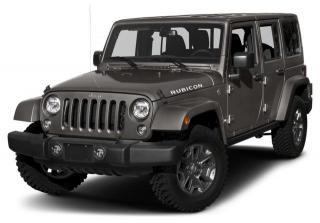 New 2018 Jeep Wrangler JK Unlimited Rubicon 4x4 for sale in Surrey, BC