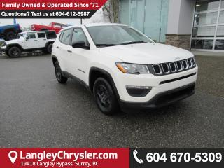 New 2018 Jeep Compass Sport for sale in Surrey, BC