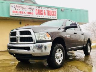 Used 2016 Dodge Ram 2500 ST CREW CAB! 4X4! COMING SOON! CALL FOR DETAILS! for sale in Bolton, ON