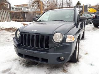 Used 2007 Jeep Compass SPORT, CERTIFIED for sale in Scarborough, ON