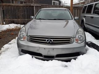 Used 2006 Infiniti G35X Luxury for sale in Scarborough, ON