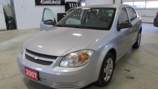 Used 2007 Chevrolet Cobalt LS low kms for sale in Chatsworth, ON