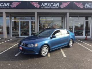 Used 2015 Volkswagen Jetta 2.0L TRENDLINE AUT0 A/C SUNROOF BACKUP CAMERA 77K for sale in North York, ON
