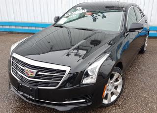 Used 2015 Cadillac ATS 2.0T TURBO AWD *LEATHER-SUNROOF* for sale in Kitchener, ON