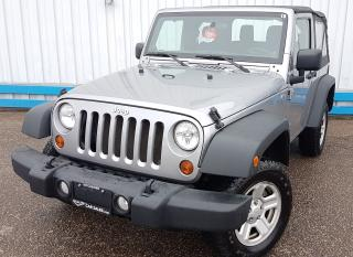 Used 2013 Jeep Wrangler Sport 4X4 for sale in Kitchener, ON