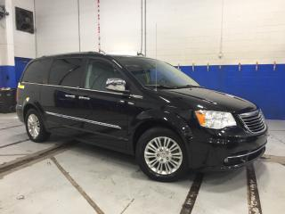 Used 2013 Chrysler Town & Country LIMITED - LEATHER - DUAL DVD - NAVI - SUNROOF for sale in Aurora, ON