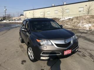 Used 2012 Acura MDX Tech-package, AWD, DVD, 3/Y warranty available for sale in North York, ON