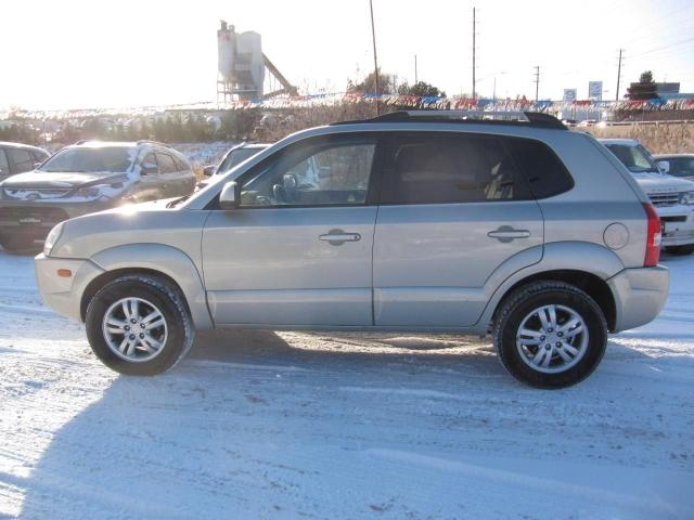 2007 Hyundai Tucson GLS AWD LEATHER & SUNROOF