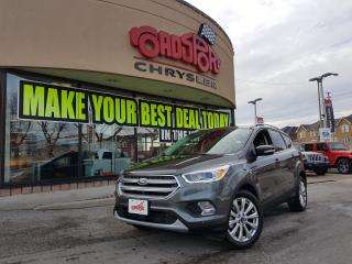Used 2017 Ford Escape Titanium PANO ROOF LTHR NAVI REAR CAM for sale in Scarborough, ON