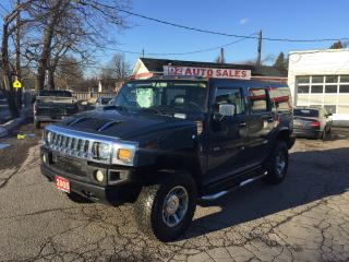 Used 2005 Hummer H2 Accident Free/Leather/Roof/Loaded/Certified for sale in Scarborough, ON