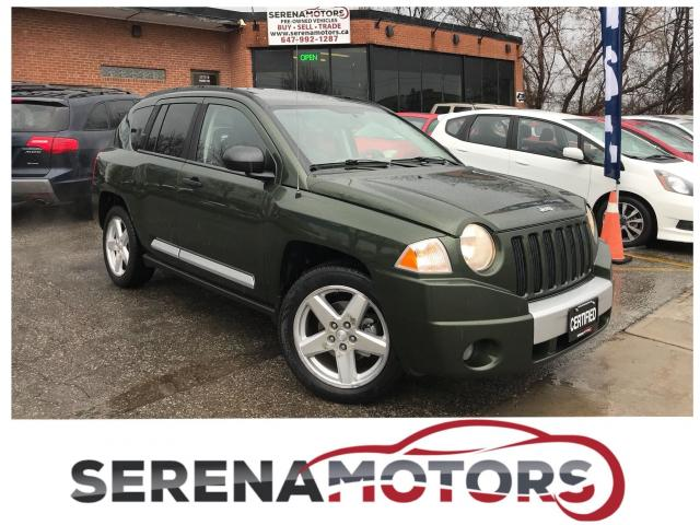 2008 Jeep Compass LIMITED | 4X4 | NO ACCIDENTS