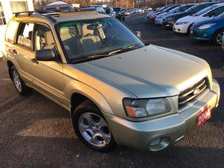 Used 2004 Subaru Forester XS PREMIUM / AWD / Auto / Sunroof / Alloys / Fogs for sale in Scarborough, ON