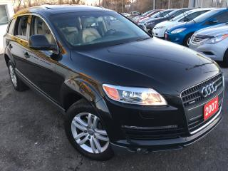 Used 2007 Audi Q7 Auto / AWD / 7-Pass / Backup Camera / Pano Sunroof for sale in Scarborough, ON