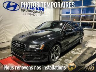 Used 2014 Audi A5 PROGRESSIV + QUATTRO + NAVI + B&O + 19'' for sale in Drummondville, QC